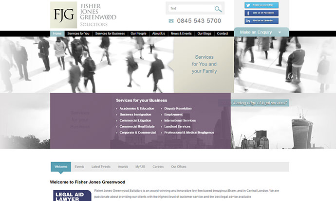 Fisher Jones Greenwood Solicitors